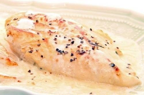 Курица со шпинатом. Курица в сливочном соусе со шпинатом. || Лапша с курицей шпинатом и сыром - пошаговый рецепт