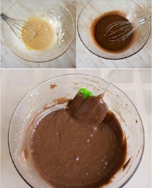 Шоколадный пирог с мягким творогом. Шоколадно - творожный мягкий пирог.