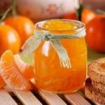 Рецепт ароматного варенья из мандаринов.