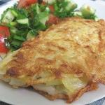 Рыба в картофельной корочке!