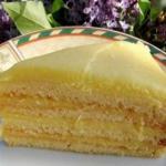 Вкусный торт с творожным заварным кремом сказочно.