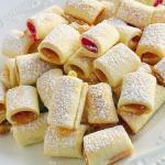 Мягкое тесто с разноцветным вареньем внутри - это супер - печенье!