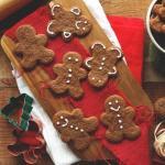 Шоколадно - имбирное печенье.