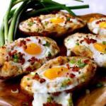 9 аппетитных блюд из яиц за 5 минут.