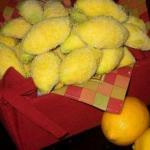 """Печенье """"Лимончики"""".  Ингредиенты:"""
