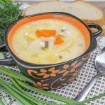 Суп из плавленых сырков.