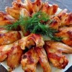 Мы готовим куриные крылышки - 10 лучших рецептов.
