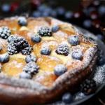 Творожный тарт с абрикосами.