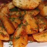 Картофель по-деревенски.  Ингредиенты: