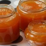 Сладкий апельсиновый джем.