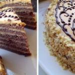 """Шоколадный торт со сливочным кремом со сгущёнкой""""?"""