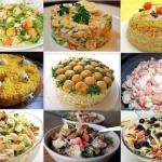 9 рецептов вкуснейших домашних салатов.