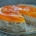 """Торт """"Апельсинка"""".  Ингредиенты:"""