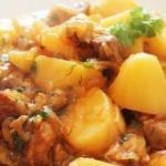 Мясо с картофелем: топ - 7 рецептов.
