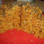 Торт муравейник из печенья.