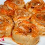 Штрумбы кубанские.  Штрумбы, это блюдо для тех, кто любит пельмени, но ленится лепить их.