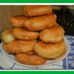 Пирожки с картошкой на кефире.