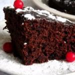 Влажный шоколадный торт - пирожное?