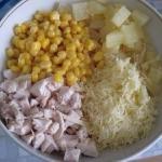 Даже в процессе снижения веса в первой половине дня можно позволить себе такой нежный и вкусный салат.