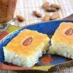 """""""Басбуса"""" - известная арабская сладость."""