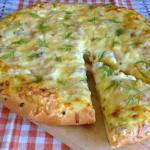 Деревенская пицца.  Ингредиенты: