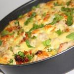 Картофельная запеканка с курицей и сыром (по-французски.