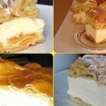 Карпатка.   Этот удивительно простой и очень вкусный заварной пирог весьма популярен в Польше.
