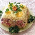 12 рецептов красивых салатов.