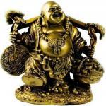 Хоттей - известный бог богатства, приносящий удачу.