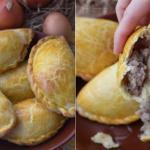 Караимские пирожки.  Караимские пирожки - любимое блюдо всех крымчан и вообще одна из кулинарных визитных карточек Крыма.
