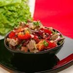"""Салат """"Тбилиси"""".   Очень вкусный и нарядный салатик!"""