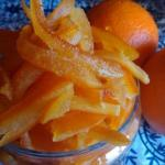 Цукаты апельсиновые (из апельсиновых корок).