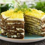 Как приготовить печеночный торт?