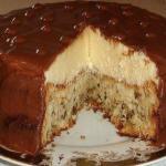 """Тортик """"Эскимо"""".  Вкус крема похож на мороженое, а с нежным бисквитом и глазурью, это еще вкуснее."""