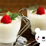 Молочный десерт для детей вместо мороженого.