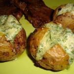 Картофель на гарнир.  Ингредиенты: