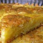 Запеканка из тертого картофеля с сыром и чесноком?