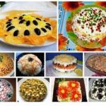Тор - 10 рецептов приготовления праздничных салатов?