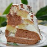 """Торт """"Графские Развалины""""."""