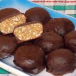 "Домашние конфеты с орехами ""метеорит""\xA0."