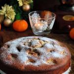 Новогодний кекс с мандаринами и изюмом?