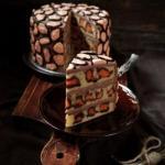 Леопардовый торт.   Вот это красота!