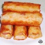 Сосиски в картофель - сырной шубке.