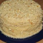 Тортик со сгущенкой на сковородке.