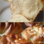 Вкусные ароматные булочки.