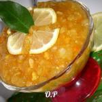 Кабачковый джем с апельсином и лимоном.