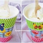 Домашнее сливочное мороженое.