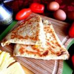 Ёка, армянская закуска из лаваша?