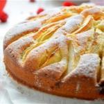 Корнуэльский яблочный пирог.