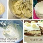 5 самых простых кремов для тортов и других десертов.